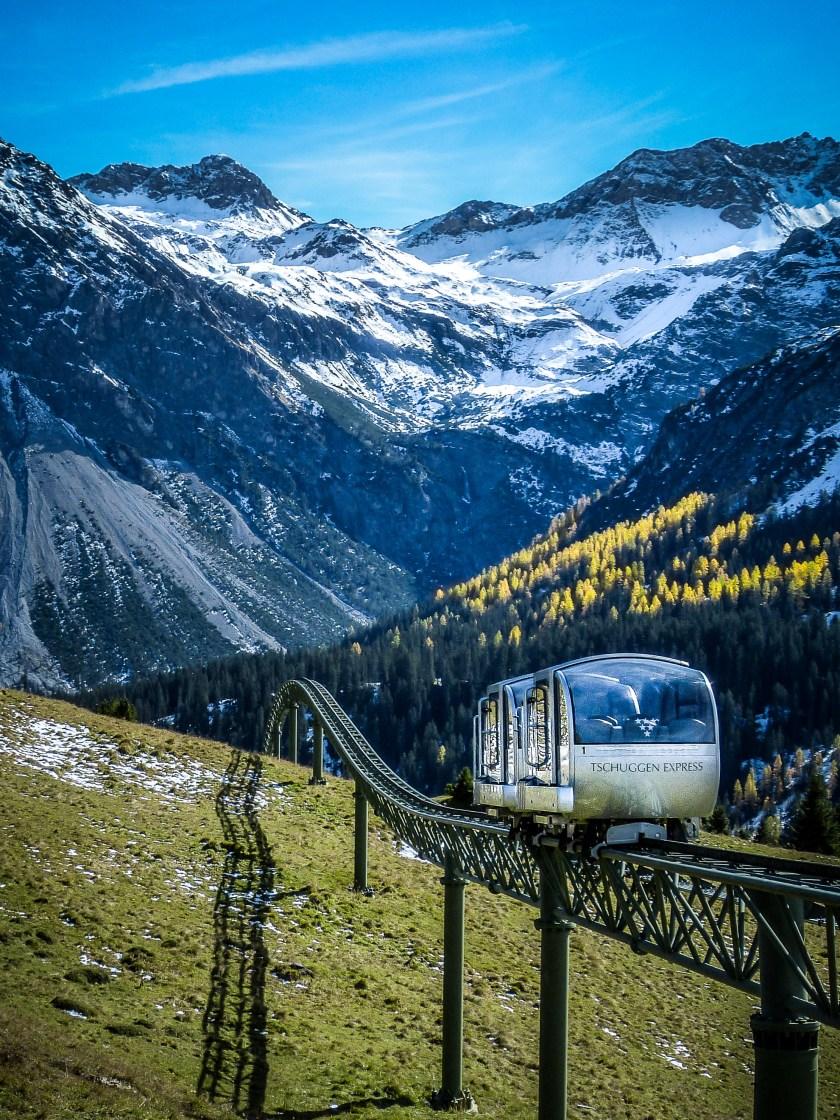 Tschuggen Express - the Mountain Monorail