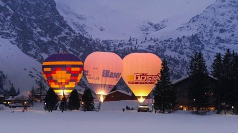 Hot Air Balloon Alpine Week Arosa-1100274