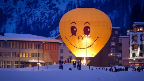 Hot Air Balloon Alpine Week Arosa-1100287