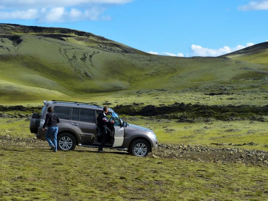 Laki Gigar Iceland Jeep