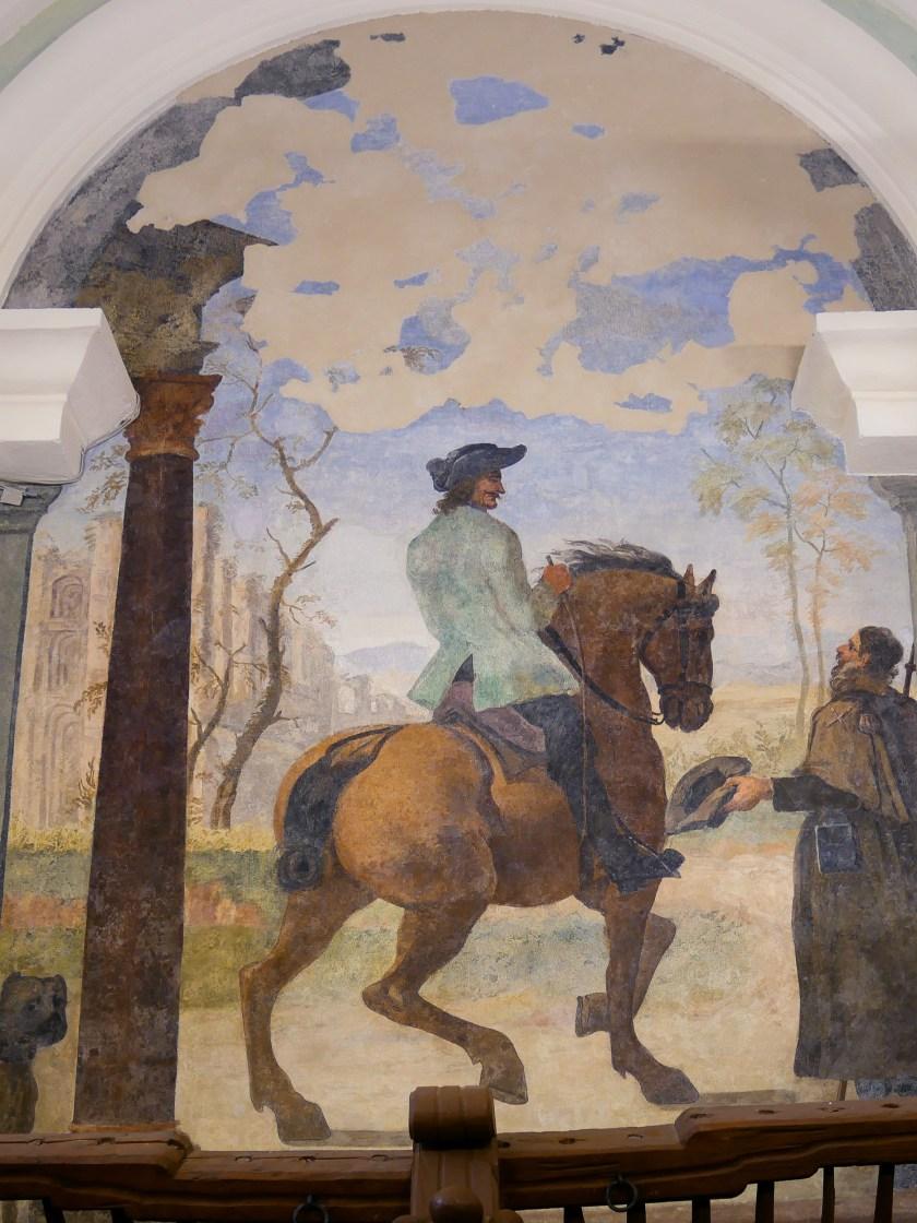 Wandbilder Marstall Schloss und Kloster Salem innen