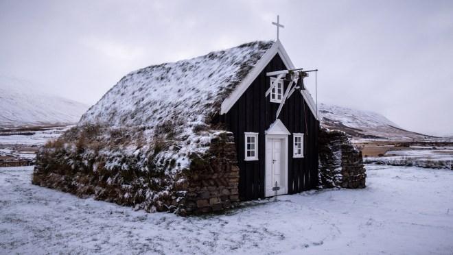 Saurbæjarkirkja Torfkirche Island Iceland