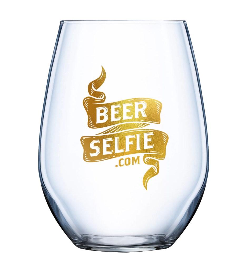 beer selfie glassware