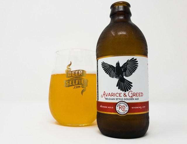 Roadhouse Brewing Avarice and Greed Belgian Style Golden Ale