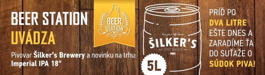 Beer Station uvádza Šilker's Brewery