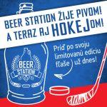 Beer Station žije pivom! A teraz aj HOKEJom!