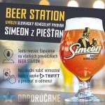 Novinka v Beer Station - pivovar Simeon
