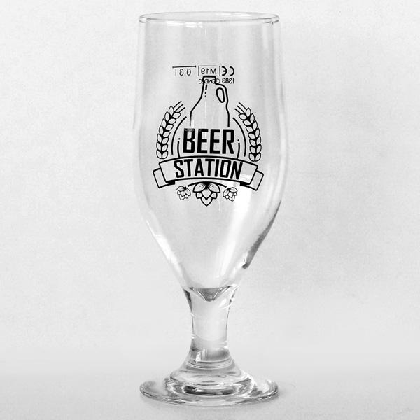 Beer Station Pohár 0.3l