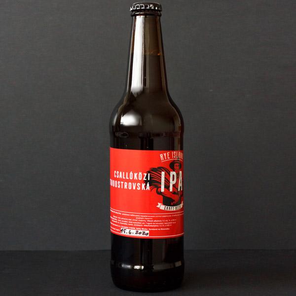 Hard Worker's 14; Rye Island; Red IPA; Pivo; Craft beer; Živé pivo