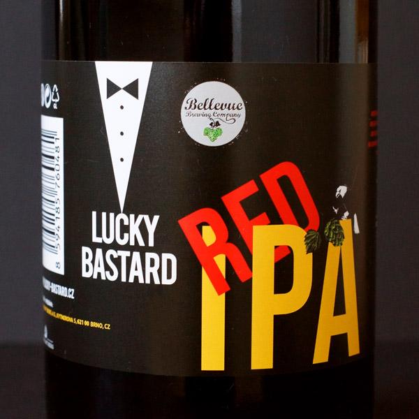 Lucky Bastard Red IPA