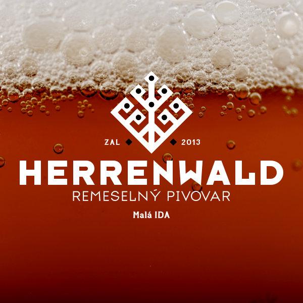 Pivovar Herrenwald English Brown Ale Bruno 11,5 Živé pivo