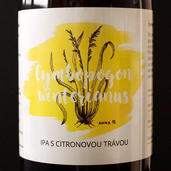 Pivečka; Cymbopogon Winterianus 14°; Craft Beer; Remeselné Pivo; Živé pivo; Beer Station; Fľaškové pivo; IPA;