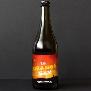 WYWAR; Orange Sky 12°; Craft Beer; Remeselné Pivo; Živé pivo; Beer Station; Fľaškové pivo; IPA; Distribúcia piva