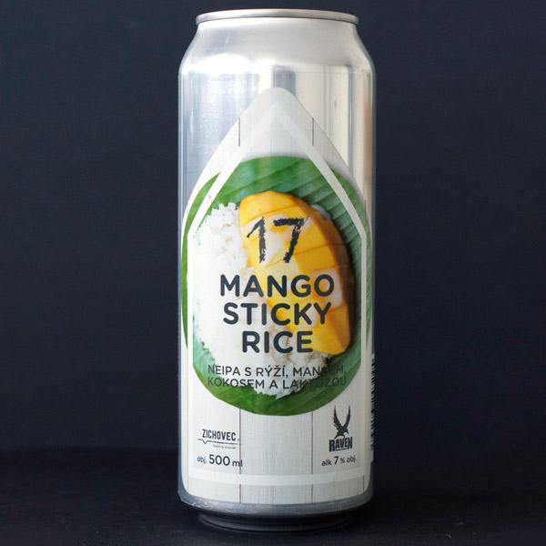 Mango Sticky Rice 17; Zichovec plechovka; Mango Sticky Rice Zichovec; IPA; Beer Station; pivo e-shop; remeselné pivo; remeselný pivovar; craft beer Bratislava; živé pivo