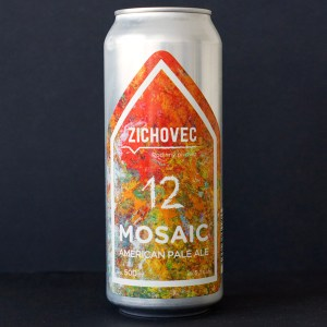 Zichovec; Mosaic Ale; Zichovec pivo; Zichovec APA