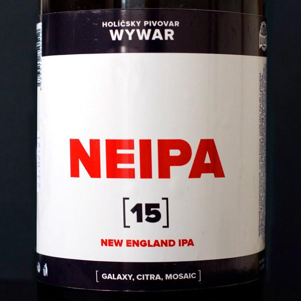 WYWAR; NEIPA 15°; Craft Beer; Remeselné Pivo; Živé pivo; Beer Station; Fľaškové pivo; IPA; Distribúcia piva