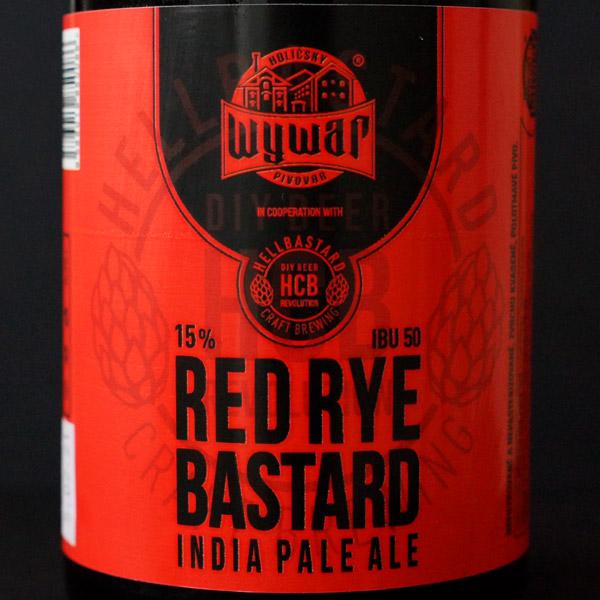 WYWAR; Red Rye Bastard; Craft Beer; Remeselné Pivo; Živé pivo; Beer Station; Fľaškové pivo; IPA;