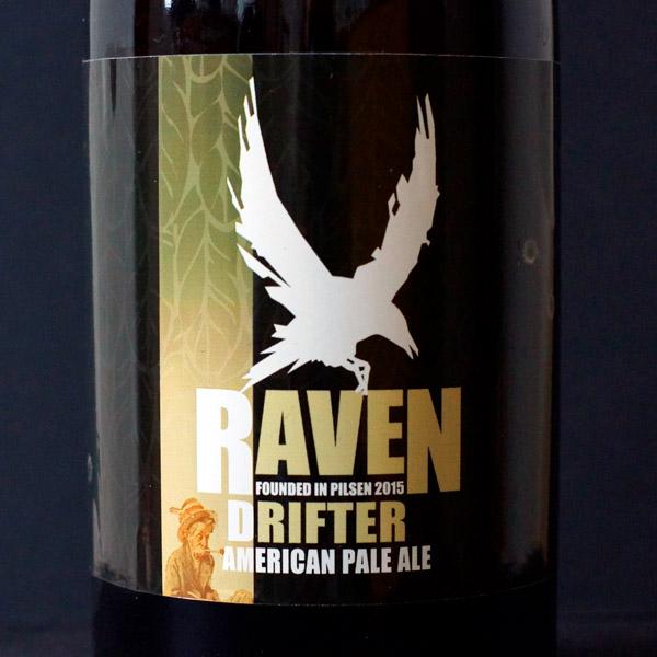 Raven; Drifter 12; APA; Beer Station; pivo e-shop; remeselné pivo; remeselný pivovar; craft beer Bratislava; živé pivo; pivo; Distribúcia piva; American Pale Ale