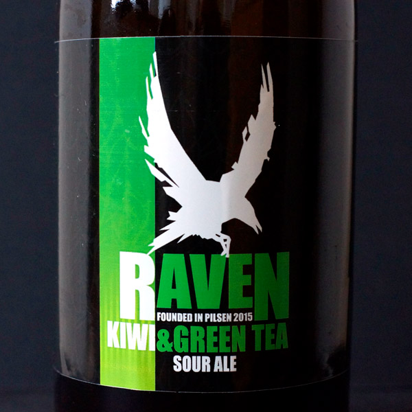 Raven; Kiwi & Green Tea 9; Sour Ale; Beer Station; pivo e-shop; remeselné pivo; remeselný pivovar; craft beer Bratislava; živé pivo; pivo; Distribúcia piva; Berliner Weisse