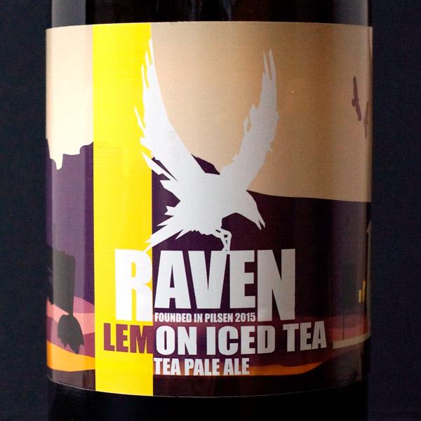 Raven; Lemon Iced Tea 10; APA; Beer Station; pivo e-shop; remeselné pivo; remeselný pivovar; craft beer Bratislava; živé pivo; pivo; Distribúcia piva; American Pale Ale