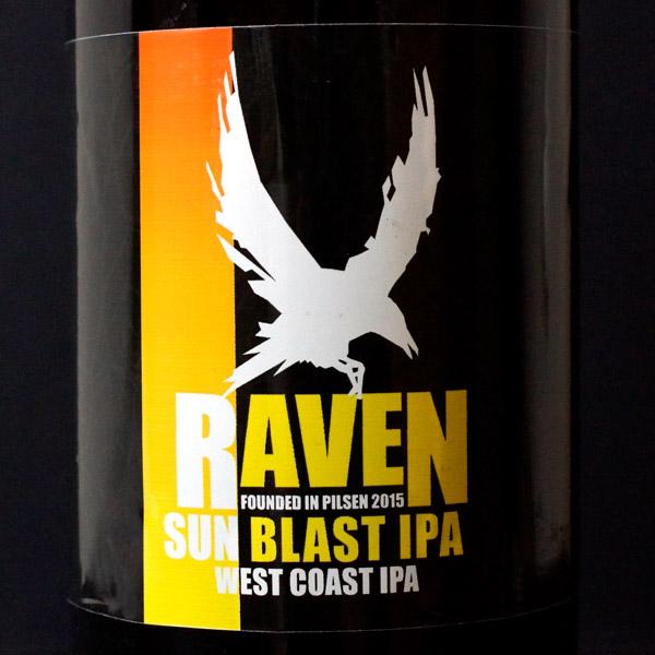 Raven; Sun Blast 16; IPA; Beer Station; pivo e-shop; remeselné pivo; remeselný pivovar; craft beer Bratislava; živé pivo; pivo; Distribúcia piva; pivovar Raven; American IPA