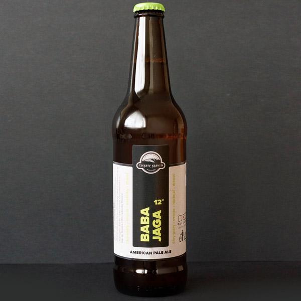 Čierný kameň; Baba Jaga 12°; Craft Beer; Remeselné Pivo; Živé pivo; Beer Station; Fľaškové pivo; ležiak; pivovar Čierny Kamen; pivo so sebou