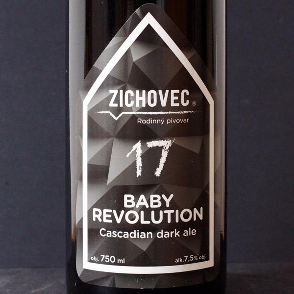 Zichovec; Baby Revolution 17; Black IPA; Beer Station; pivo e-shop; remeselné pivo; remeselný pivovar; craft beer Bratislava; živé pivo
