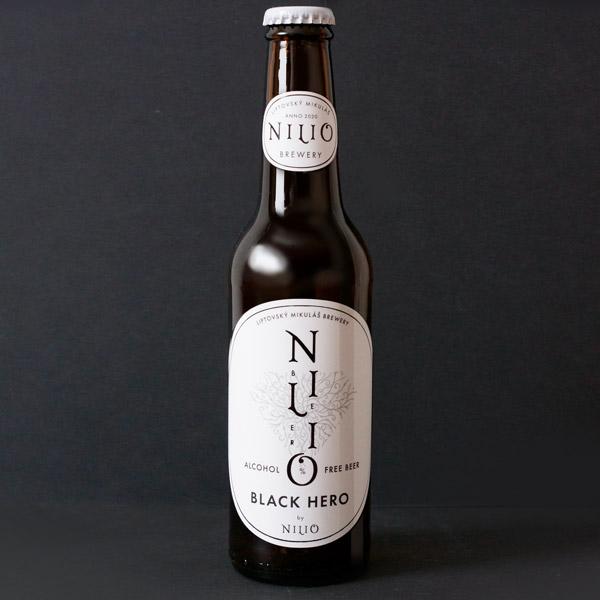Nilio; nilio pivo; nilio pivovar; nilio nealko; nealko pivo; nealkoholické pivo; slovenský pivovar; Black Hero