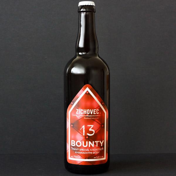 Zichovec; Bounty 13; tamvé pivo; Beer Station; pivo e-shop; remeselné pivo; remeselný pivovar; craft beer Bratislava; živé pivo; pod vrchnakom