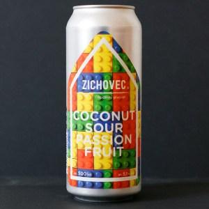 Coconut SOUR Passion Fruit 12; Zichovec plechovka; Zichovec; SOUR; Beer Station; pivo e-shop; remeselné pivo; remeselný pivovar; craft beer Bratislava; živé pivo; pivo; pod vrchnakom
