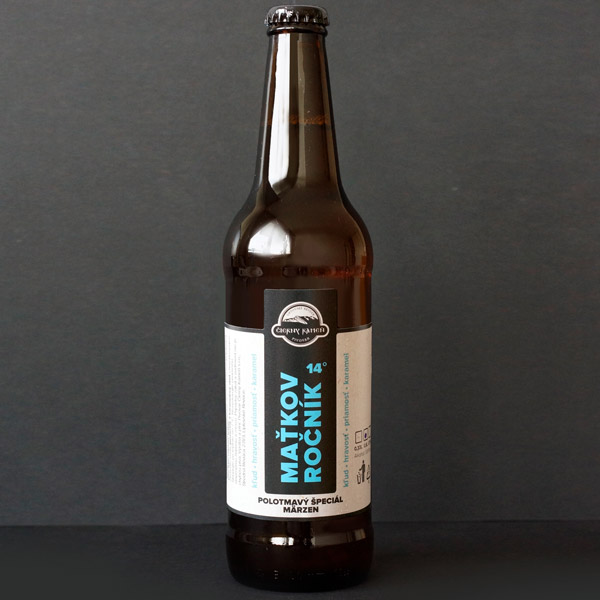 Čierný kameň; Maťkov ročník 12°; Craft Beer; Remeselné Pivo; Živé pivo; Beer Station; Fľaškové pivo; ležiak; pivovar Čierny Kamen; pivo so sebou; märzen