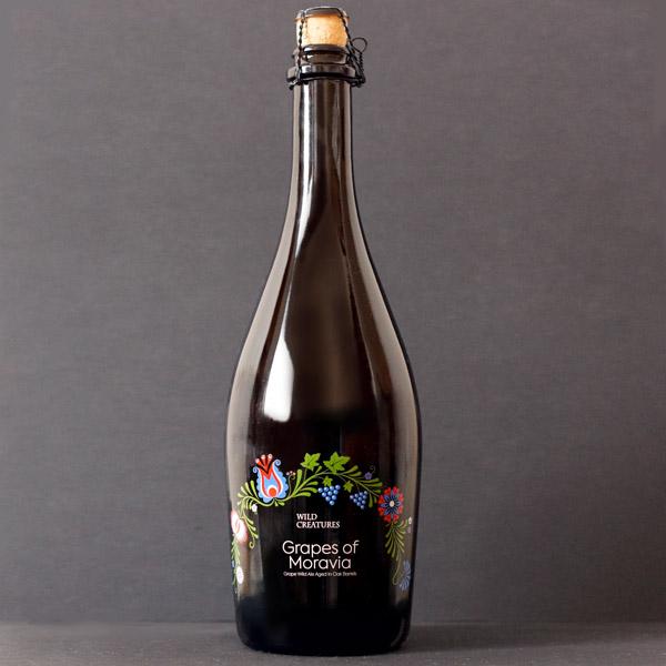 Wild Creatures; Grapes of Moravia; Spontanne kvasenie; Beer Station; pivo e-shop; remeselné pivo; remeselný pivovar; craft beer; Salon piva; pivo; Distribúcia piva; pivovar; Barrel aged