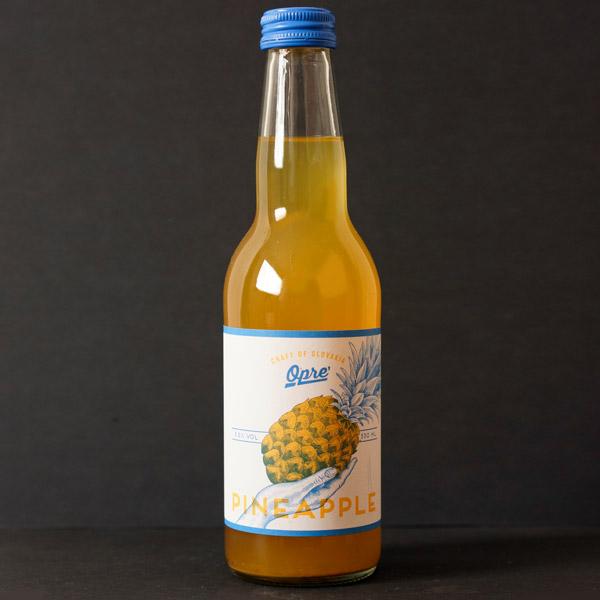 cider; opre cider; opre; ananásový cider; sajder; Opre' Pineapple