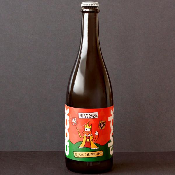 Clock; Rišaví Zmikund 20; Craft Beer; Remeselné Pivo; Živé pivo; Beer Station; IPA; Pivovar Clock; Distribúcia piva; pivovar z Potštejna; Pivo; Imperial Red IPA