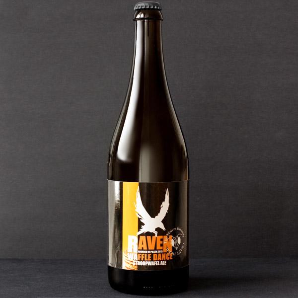 Raven; Waffle Dance 14; Amber Ale; Beer Station; pivo e-shop; remeselné pivo; remeselný pivovar; craft beer Bratislava; živé pivo; pivo; Distribúcia piva;