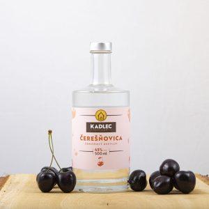 Čerešňovica; Čerešňovica 45%; Kadlec Destillery; destilát; Kadlec; čerešňový destilát