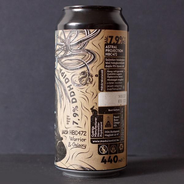 Astral Projection HBC 472; MAD Scientist; Maďarský pivovar; madarske pivo; Astral Projection; pivo; Craft Beer v plechovke; remeselné pivo; Beer Store