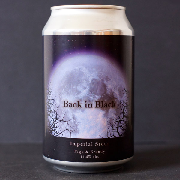 Pivovar General; Back in Black; Imperial Stout - Figs & Brandy; Beer Store; Craft Beer; Imperial Stout