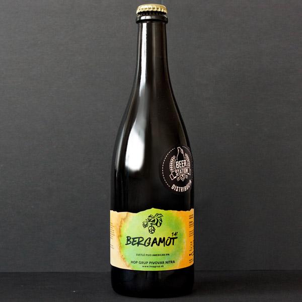 Hop Grup; Bergamot; Craft Beer; Remeselné Pivo; Živé pivo; Beer Station; Fľaškové pivo; IPA; pivo Hop Grup
