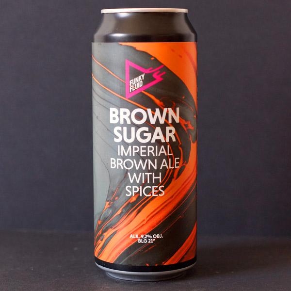 Funky Fluid; Brown Sugar; Craft Beer; Remeselné Pivo; Salon piva; Beer Station; Plechovkové pivo; Imperial Brown Ale; Poľské pivo; Distribúcia piva
