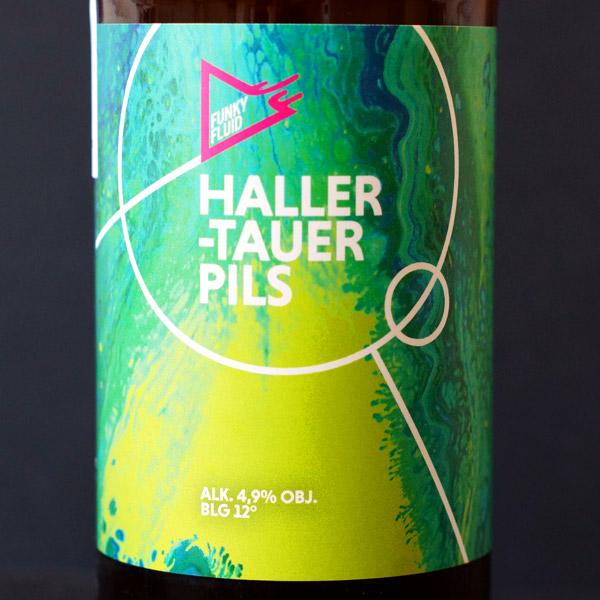 Funky Fluid; Hallertauer Pils; Craft Beer; Remeselné Pivo; Pod vrchnakom; Beer Station; Fľaškové pivo; German Pilsner; Lager; Distribúcia piva; Poľské pivo