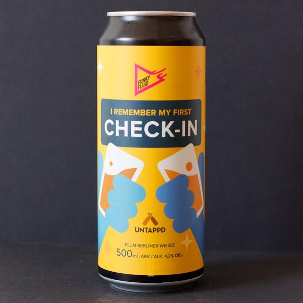 Funky Fluid; Berliner Weisse; Craft Beer; Remeselné Pivo; Pod vrchnakom; Beer Station; Plechovkové pivo; Sour Ale; Sour; Distribúcia piva; Poľské pivo; I Remember My First Check-In