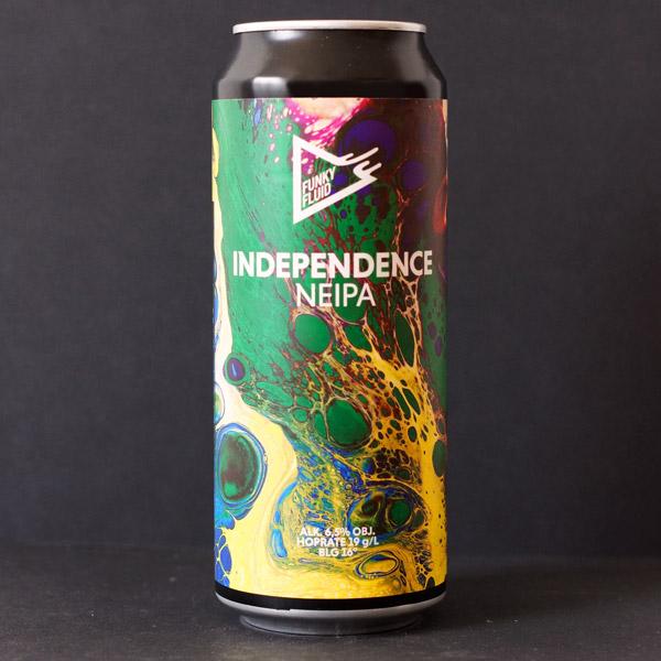 Funky Fluid; Independence; Craft Beer; Remeselné Pivo; Pod vrchnakom; Beer Station; Plechovkové pivo; NEIPA; New England IPA; Distribúcia piva; Poľské pivo