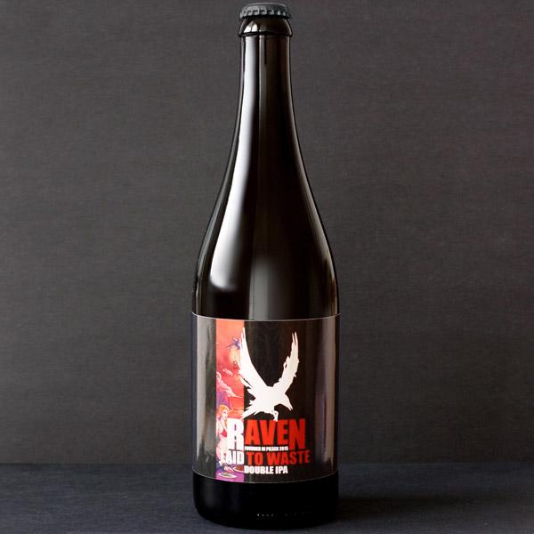 Raven; Laid To Waste 20; IPA; Beer Station; pivo e-shop; remeselné pivo; remeselný pivovar; craft beer Bratislava; živé pivo; pivo; Distribúcia piva; pivovar Raven; Double IPA; ponuka