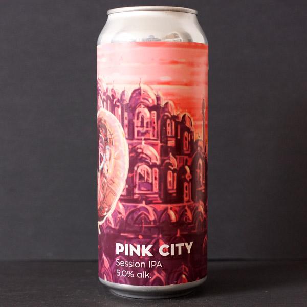 Pink City 12; Hellstork; pink City Hellstork; IPA; plechovkove pivo; Beer Station; živé pivo; remeselné pivo; remeselný pivovar; remeselné pivo