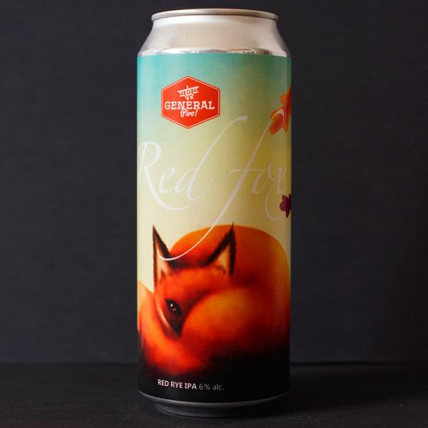 Pivovar General; Red Fox 14; IPA; Beer Store; Craft Beer; Red Rye IPA