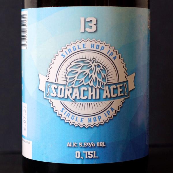 WYWAR; Sorachi Ace 13°; Craft Beer; Remeselné Pivo; Živé pivo; Beer Station; Fľaškové pivo; IPA; Single Hop