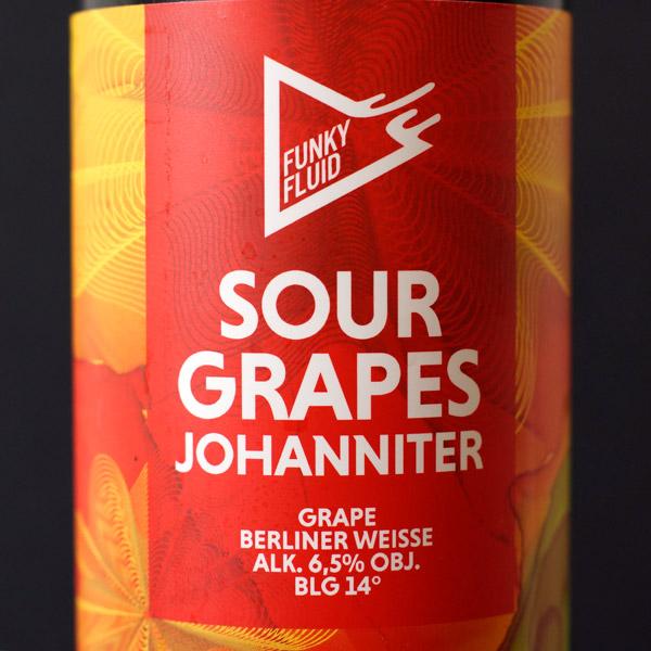 Funky Fluid; Sour Grapes: Johanniter; Craft Beer; Remeselné Pivo; poľský pivovar; Beer Station; Plechovkové pivo; Sour Ale; Dry Hopped Berliner Weisse; Distribúcia piva; Poľské pivo