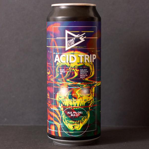 Funky Fluid; Acid Trip Galaxy Dragon Fruit Passion; Craft Beer; Remeselné Pivo; Živé pivo; Beer Station; Fľaškové pivo; Sour Triple IPA;