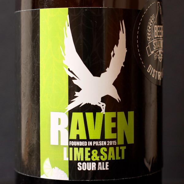 Raven; Lime & Salt 9; Gose; Beer Station; pivo e-shop; remeselné pivo; remeselný pivovar; craft beer Bratislava; Pod vrchnakom; pivo; Distribúcia piva;